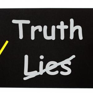 how to stop lying